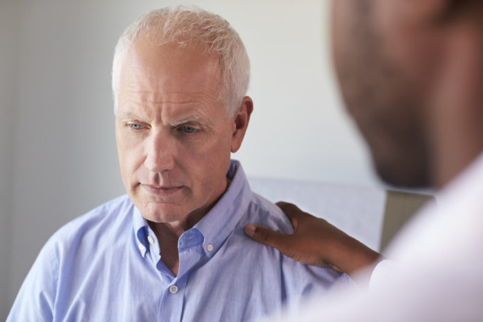 doctor giving bad news to patient